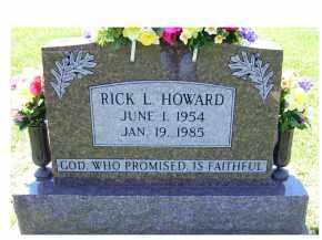 HOWARD, RICK L. - Highland County, Ohio | RICK L. HOWARD - Ohio Gravestone Photos
