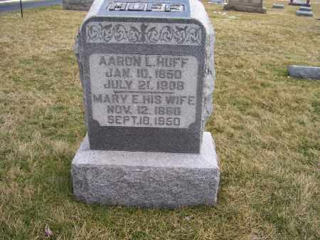 HUFF, AARON L. - Highland County, Ohio | AARON L. HUFF - Ohio Gravestone Photos