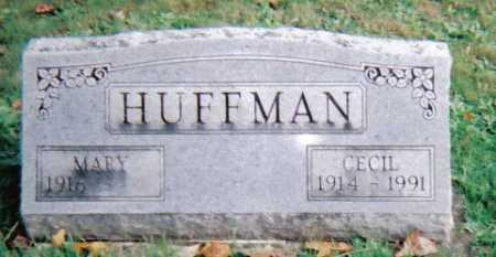 HUFFMAN, CECIL - Highland County, Ohio | CECIL HUFFMAN - Ohio Gravestone Photos
