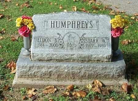 HUMPHREYS, ELDON B. - Highland County, Ohio   ELDON B. HUMPHREYS - Ohio Gravestone Photos