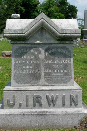 LIMES IRWIN, HESTER - Highland County, Ohio | HESTER LIMES IRWIN - Ohio Gravestone Photos