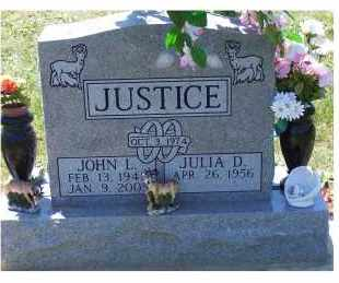 JUSTICE, JULIA D. - Highland County, Ohio | JULIA D. JUSTICE - Ohio Gravestone Photos
