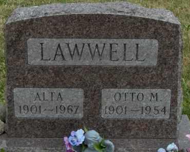 HISE LAWWELL, ALTA JENNY - Highland County, Ohio | ALTA JENNY HISE LAWWELL - Ohio Gravestone Photos