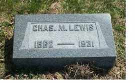 LEWIS, CHAS. M. - Highland County, Ohio   CHAS. M. LEWIS - Ohio Gravestone Photos