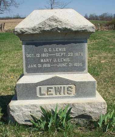 LEWIS, D. C. - Highland County, Ohio | D. C. LEWIS - Ohio Gravestone Photos