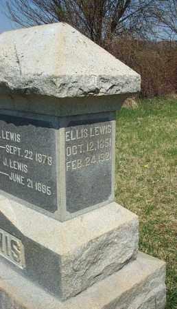 LEWIS, ELLIS - Highland County, Ohio | ELLIS LEWIS - Ohio Gravestone Photos