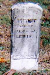 LEWIS, INFANT - Highland County, Ohio | INFANT LEWIS - Ohio Gravestone Photos