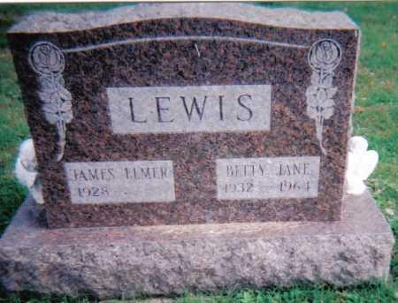LEWIS, JAMES ELMER - Highland County, Ohio   JAMES ELMER LEWIS - Ohio Gravestone Photos