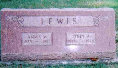 LEWIS, AMMA M. - Highland County, Ohio | AMMA M. LEWIS - Ohio Gravestone Photos
