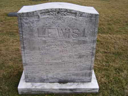 LEWIS, CAROLINE N. - Highland County, Ohio | CAROLINE N. LEWIS - Ohio Gravestone Photos