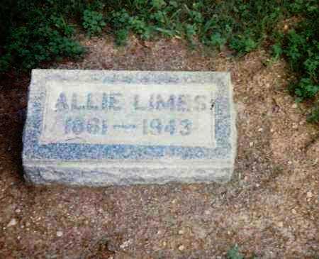 LIMES, ALLIE - Highland County, Ohio | ALLIE LIMES - Ohio Gravestone Photos