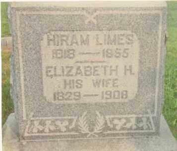 LIMES, ELIZABETH HANNAH - Highland County, Ohio | ELIZABETH HANNAH LIMES - Ohio Gravestone Photos