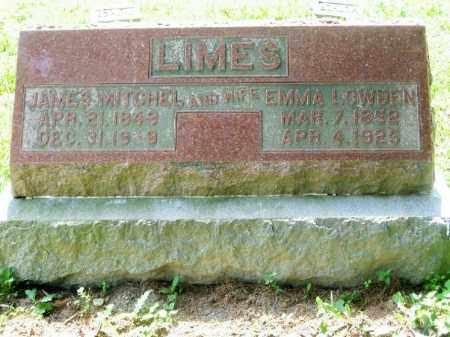 LOWDEN LIMES, EMMA - Highland County, Ohio | EMMA LOWDEN LIMES - Ohio Gravestone Photos