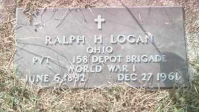 LOGAN, RALPH H - Highland County, Ohio | RALPH H LOGAN - Ohio Gravestone Photos