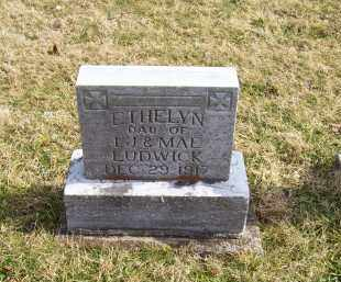 LUDWICK, ETHELYN - Highland County, Ohio | ETHELYN LUDWICK - Ohio Gravestone Photos