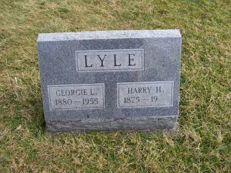 LYLE, GEORGIE L. - Highland County, Ohio | GEORGIE L. LYLE - Ohio Gravestone Photos