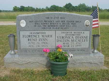 RENO LYNN, FLORENCE MARIE - Highland County, Ohio | FLORENCE MARIE RENO LYNN - Ohio Gravestone Photos