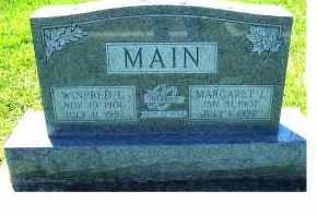 MAIN, WINFRED L. - Highland County, Ohio   WINFRED L. MAIN - Ohio Gravestone Photos