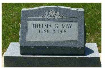 MAY, THELMA G. - Highland County, Ohio | THELMA G. MAY - Ohio Gravestone Photos