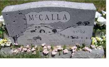 MCCALLA, CORA - Highland County, Ohio | CORA MCCALLA - Ohio Gravestone Photos