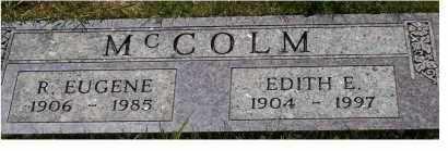 MCCOLM, R. EUGENE - Highland County, Ohio | R. EUGENE MCCOLM - Ohio Gravestone Photos