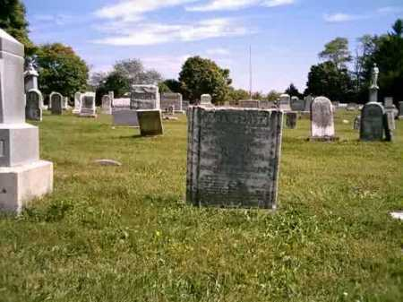 CONN MCCONNAUGHETY, SARAH ELLEN - Highland County, Ohio | SARAH ELLEN CONN MCCONNAUGHETY - Ohio Gravestone Photos