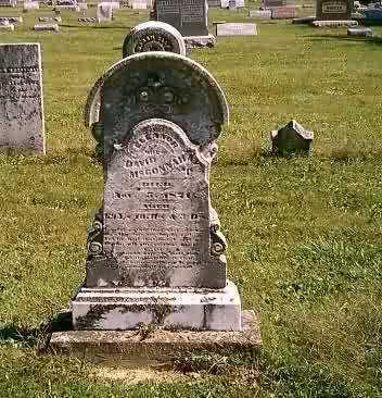 MCCONNAUGHEY, ELEANOR - Highland County, Ohio | ELEANOR MCCONNAUGHEY - Ohio Gravestone Photos