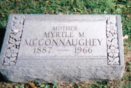MCCONNAUGHEY, MYRTLE M. - Highland County, Ohio   MYRTLE M. MCCONNAUGHEY - Ohio Gravestone Photos