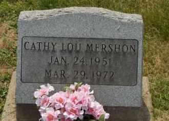 MERSHON, CATHY LOU - Highland County, Ohio | CATHY LOU MERSHON - Ohio Gravestone Photos