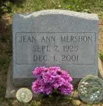 MERSHON, JEAN ANN - Highland County, Ohio | JEAN ANN MERSHON - Ohio Gravestone Photos