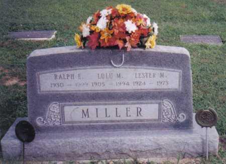 MILLER, RALPH E. - Highland County, Ohio | RALPH E. MILLER - Ohio Gravestone Photos