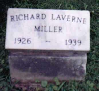 MILLER, RICHARD LAVERNE - Highland County, Ohio   RICHARD LAVERNE MILLER - Ohio Gravestone Photos
