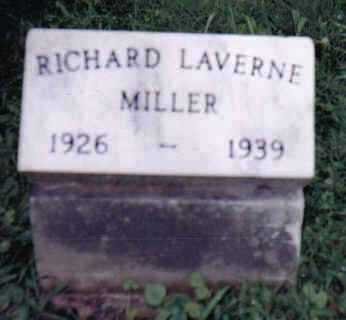 MILLER, RICHARD LAVERNE - Highland County, Ohio | RICHARD LAVERNE MILLER - Ohio Gravestone Photos