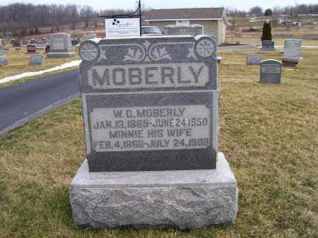 MOBERLY, W.C. - Highland County, Ohio   W.C. MOBERLY - Ohio Gravestone Photos