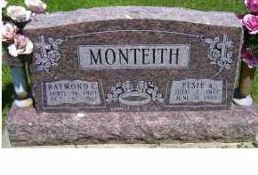 MONTEITH, ELSIE A. - Highland County, Ohio   ELSIE A. MONTEITH - Ohio Gravestone Photos