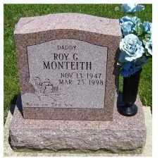 MONTEITH, ROY G. - Highland County, Ohio   ROY G. MONTEITH - Ohio Gravestone Photos