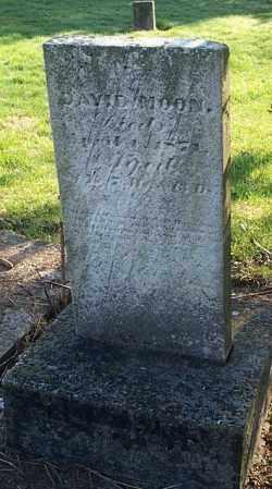MOON, DAVID - Highland County, Ohio | DAVID MOON - Ohio Gravestone Photos