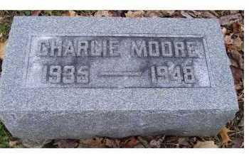 MOORE, CHARLIE - Highland County, Ohio | CHARLIE MOORE - Ohio Gravestone Photos