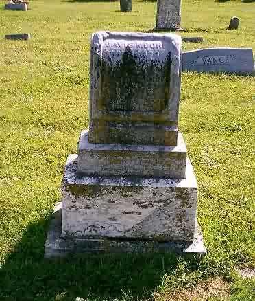 MOORE, DAVIS - Highland County, Ohio | DAVIS MOORE - Ohio Gravestone Photos