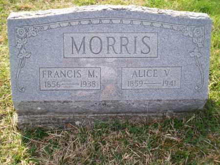 MCELFRESH MORRIS, ALICE V. - Highland County, Ohio | ALICE V. MCELFRESH MORRIS - Ohio Gravestone Photos