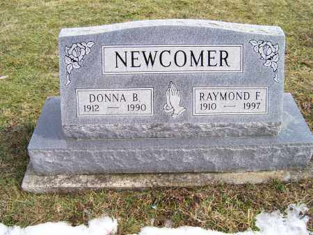 NEWCOMER, RAYMOND F. - Highland County, Ohio   RAYMOND F. NEWCOMER - Ohio Gravestone Photos