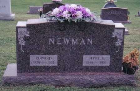 NEWMAN, MYRTLE - Highland County, Ohio | MYRTLE NEWMAN - Ohio Gravestone Photos