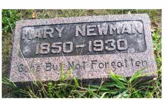 NEWMAN, MARY - Highland County, Ohio   MARY NEWMAN - Ohio Gravestone Photos