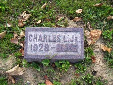 NYE, CHARLES L. JR. - Highland County, Ohio | CHARLES L. JR. NYE - Ohio Gravestone Photos