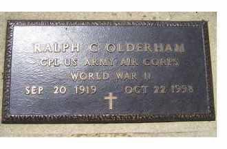 OLDERHAM, RALPH C. - Highland County, Ohio | RALPH C. OLDERHAM - Ohio Gravestone Photos