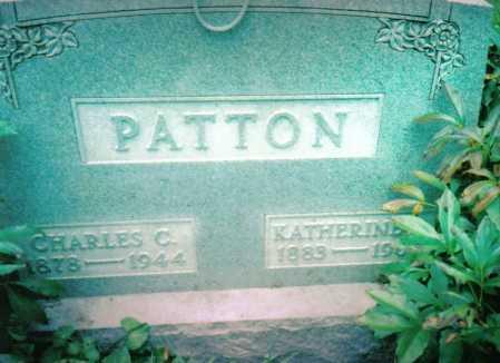 PATTON, CHARLES C. - Highland County, Ohio | CHARLES C. PATTON - Ohio Gravestone Photos