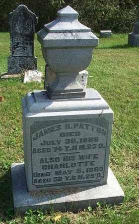 PATTON, CHARLOTTE - Highland County, Ohio | CHARLOTTE PATTON - Ohio Gravestone Photos