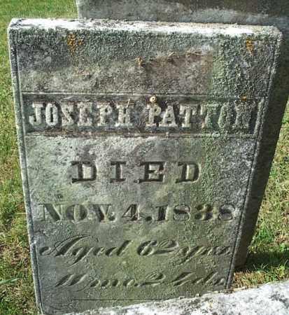 PATTON, JOSEPH - Highland County, Ohio   JOSEPH PATTON - Ohio Gravestone Photos