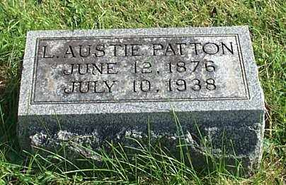 PATTON, L. AUSTIE - Highland County, Ohio | L. AUSTIE PATTON - Ohio Gravestone Photos