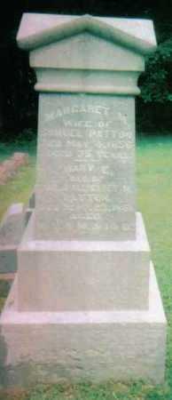 PATTON, MARY E. - Highland County, Ohio | MARY E. PATTON - Ohio Gravestone Photos